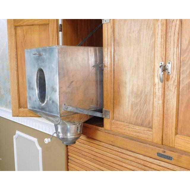 Antique Oak Sellers Indiana Hoosier Cabinet C1900 For Sale - Image 5 of 11