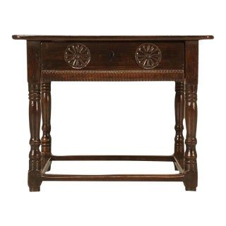 Antique Spanish Side Table For Sale