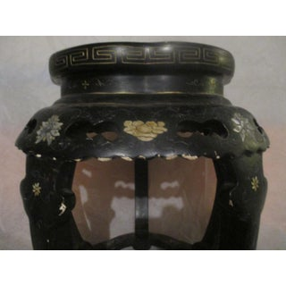 1900S Chinese Black Lacquer Side Tables - a Pair Preview