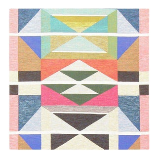Vintage Swedish Runner Rug by Agda Österberg For Sale