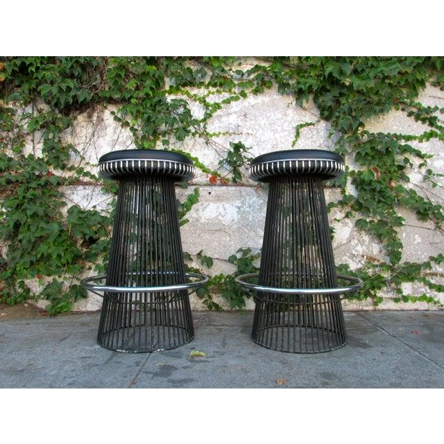 Mid-Century 1960's Knoll Platner Style Barstools - Image 2 of 4