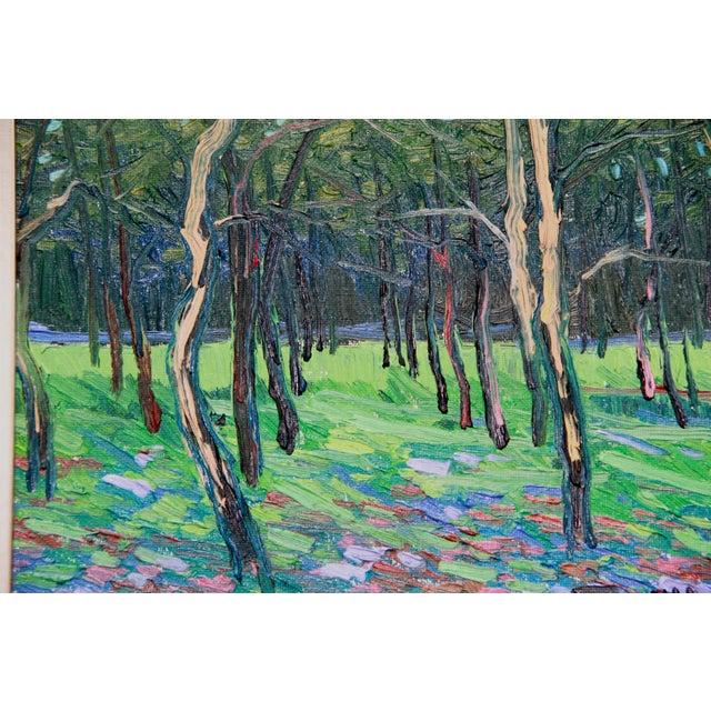 Jose Trujillo Impressionist Landscape Oil Painting - Image 3 of 3