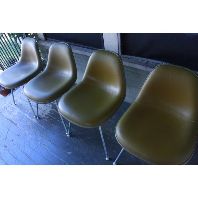 Eames La Fonda Lowback Chairs - Set of 4 - Image 8 of 11