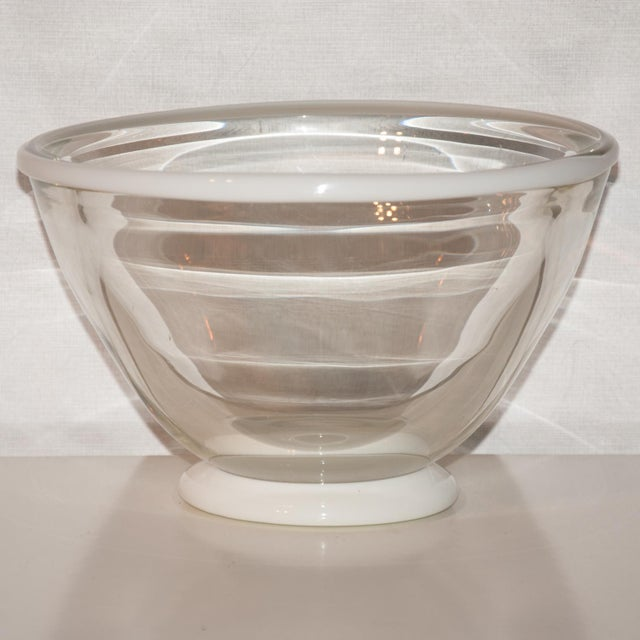 1983 United States Kent Ipsen Blown Glass Memphis Style Bowl For Sale In Richmond - Image 6 of 6