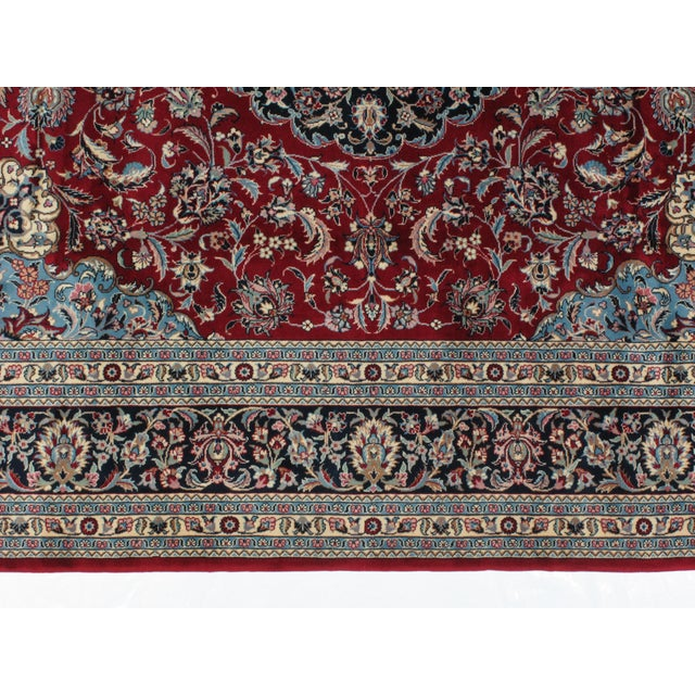 "Leon Banilivi Sino Persian Tabriz Carpet - 8'2"" x 10'2"" - Image 4 of 5"