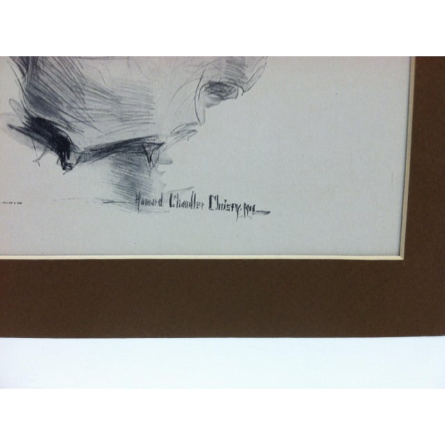 "Figurative Vintage Print . ""How Pleasant It Is to Have Money"" by Harrison Fisher For Sale - Image 3 of 6"