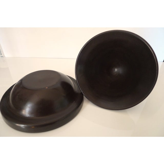 Antique Brown Moroccan Tagine - Image 8 of 8