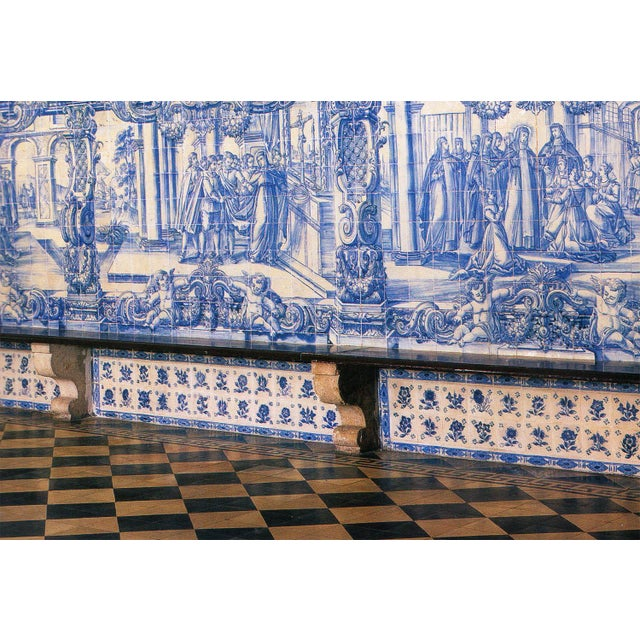 18th Century Greek Style Baroque Tiles - Set of 4 For Sale - Image 10 of 13