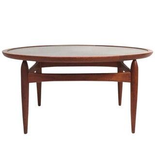 Danish Flip-Top Reversible Table in Teak by Kurt Østervig for Jason Møbler