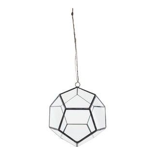 Geometric Hanging Dodecahedron Terrarium