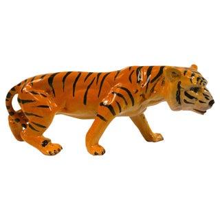 1950's Ceramic Italian Tiger