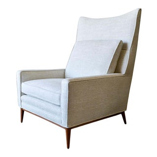Paul McCobb for Directional Wingback Lounge Chair Model 314, Circa 1955 For Sale