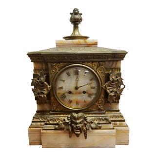Late 19th Century Mantle Clock Signed by Henri Picard For Sale