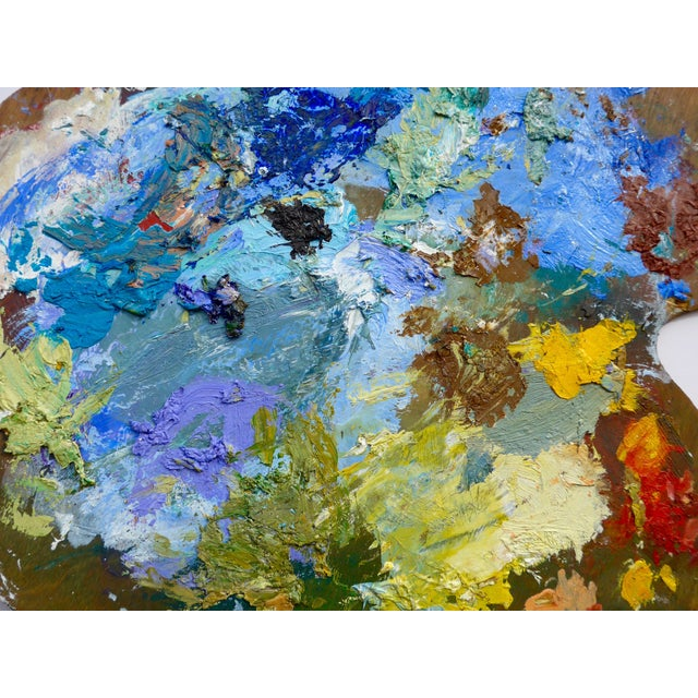 French Artist Oil Palette - Image 4 of 5