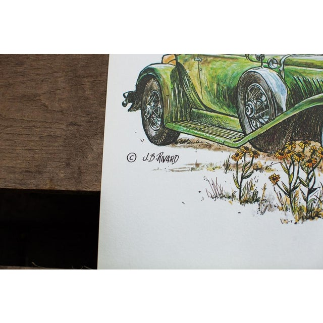 Nothing says cool like an antique car. Here's a Doozy! Awesome antique Duesenberg car in Green. This is an authentic...