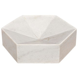 Conda Tray, White Stone For Sale