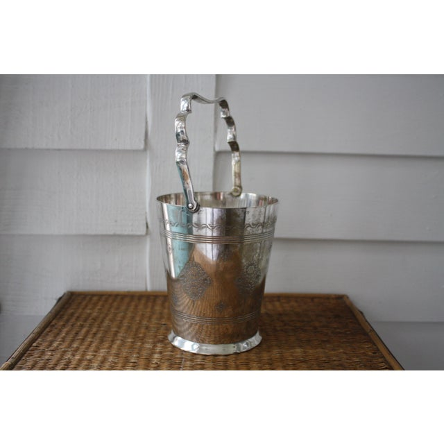 Moorish Style Silver Ice Bucket For Sale In Dallas - Image 6 of 11