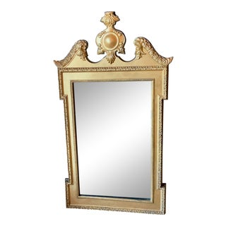 1940s Gold Gilt Mirror For Sale