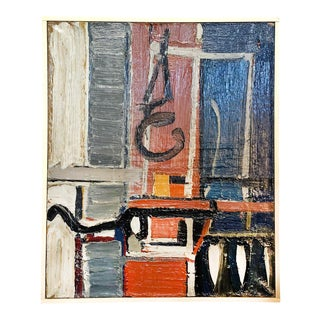 20th Century Abstract Painting by Daniel Clesse For Sale