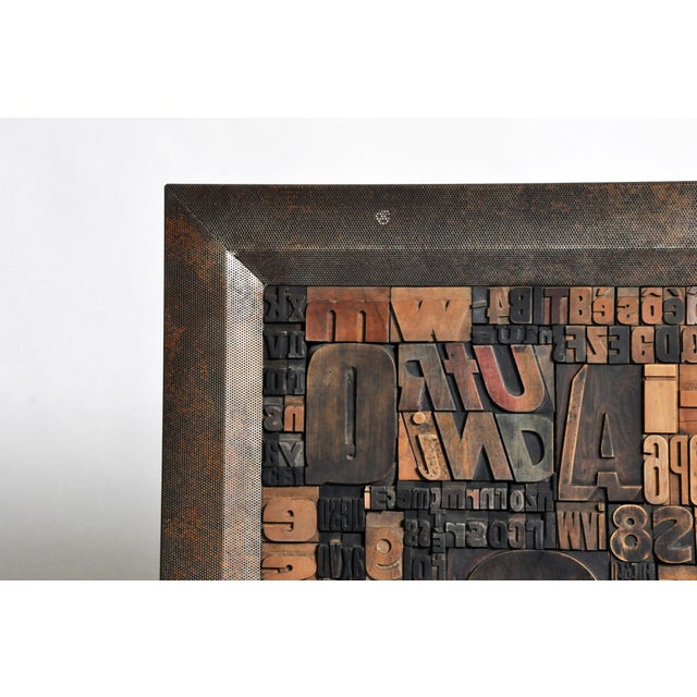 """""""Les Lettres"""" Contemporary Art Work by Raoul W. For Sale - Image 4 of 11"""