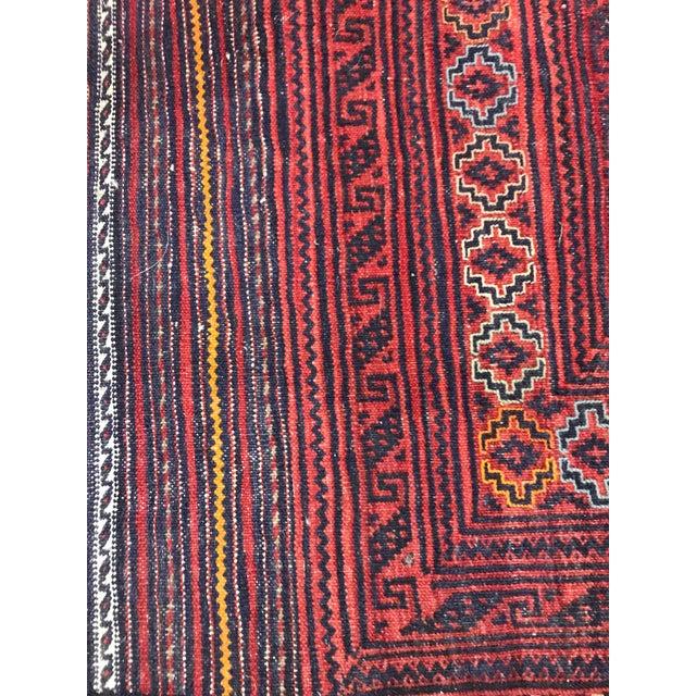 Afghan Afghan Kilim Rug - 8′ × 10′ For Sale - Image 3 of 4