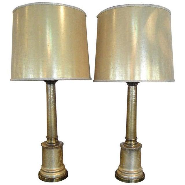 Paul Hanson Hollywood Regency Lamps - A Pair - Image 1 of 7