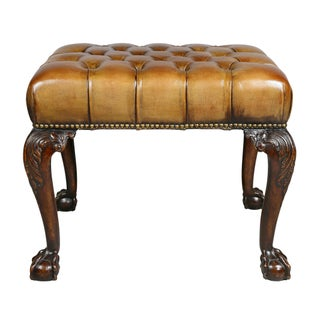 George III Style Mahogany Bench Preview