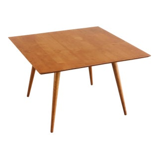 Mid Century Paul McCobb Planner Group Square Coffee Table For Sale