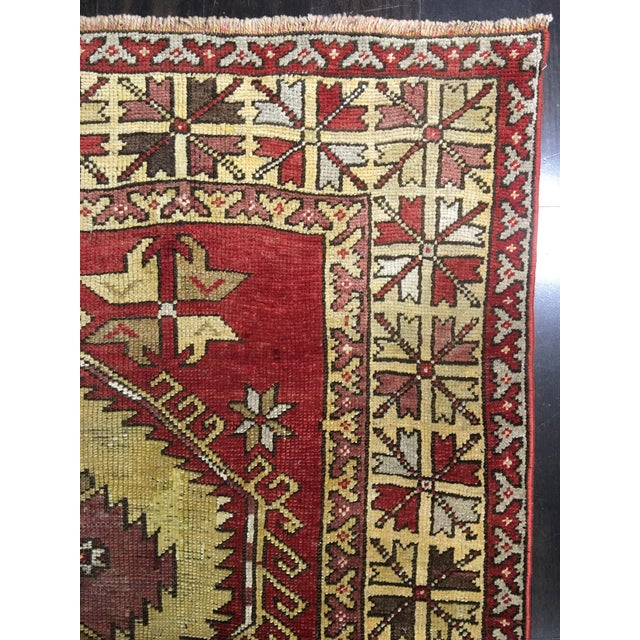 "Bellwether Rugs Vintage Turkish Oushak Runner - 5'x11'3"" - Image 8 of 8"