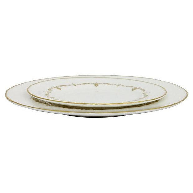 Royal Worcester Gilded Plates - Pair - Image 5 of 6