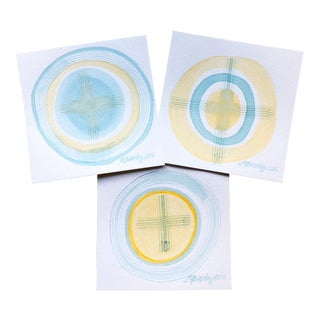 Ocular Trio Series #2 by Michelle Owenby - Set of 3