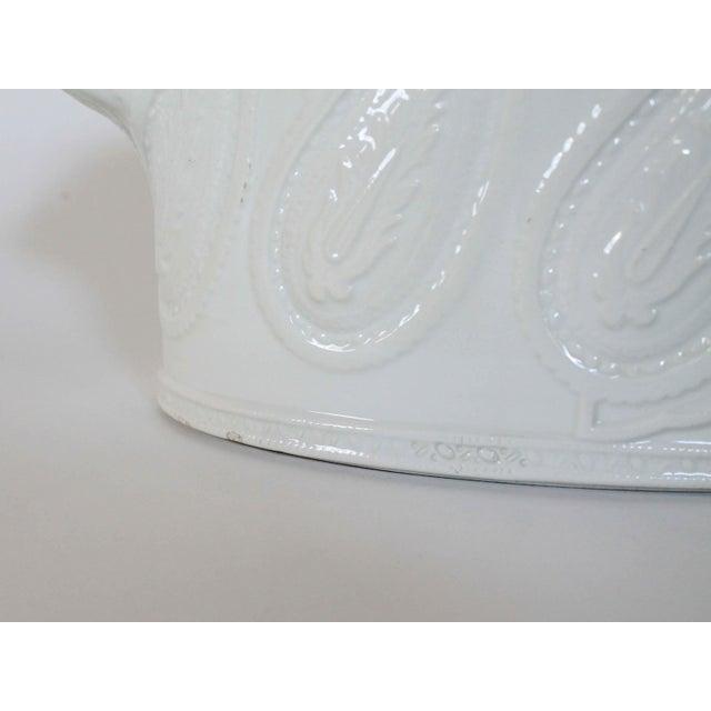 Italian Ceramic Planter For Sale - Image 5 of 8