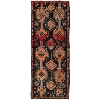 "Vintage Shiraz Wool Area Rug - 3'4"" X 8'10"" For Sale"
