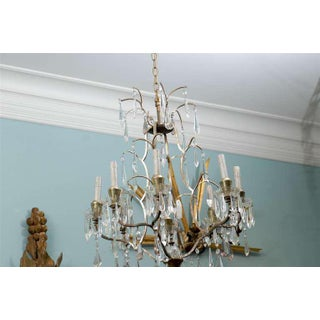 Swedish Mid-Century Eight-Light Crystal Chandelier Preview