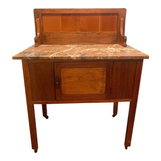 Antique Early American Dry Sink For Sale