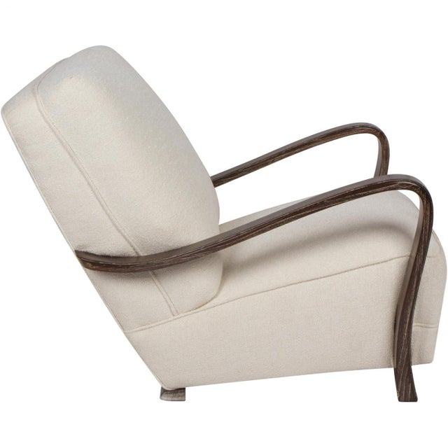 1920s French Art Deco Lounge Chairs - a Pair For Sale - Image 4 of 5