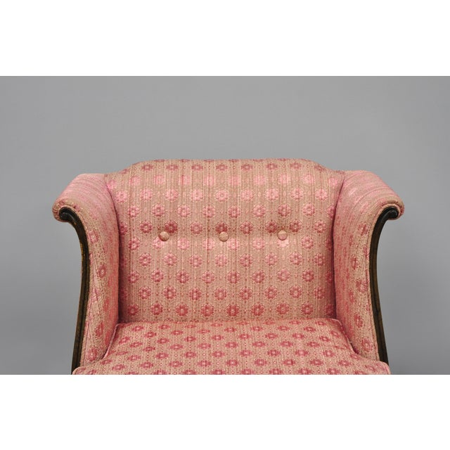 Mid 20th Century 20th Century Louis XV Knapp & Tubbs Kenilworth Boudoir Accent Chair For Sale - Image 5 of 13