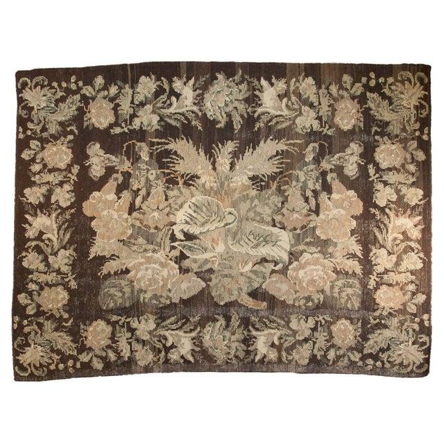 "Vintage Bessarabian Carpet - 6'5"" x 8'8"" - Image 1 of 8"