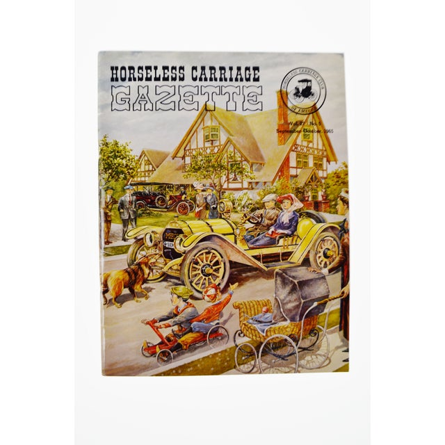 Paper Horseless Carriage Gazette Magazines - 1965 Full Year - Collectible For Sale - Image 7 of 10
