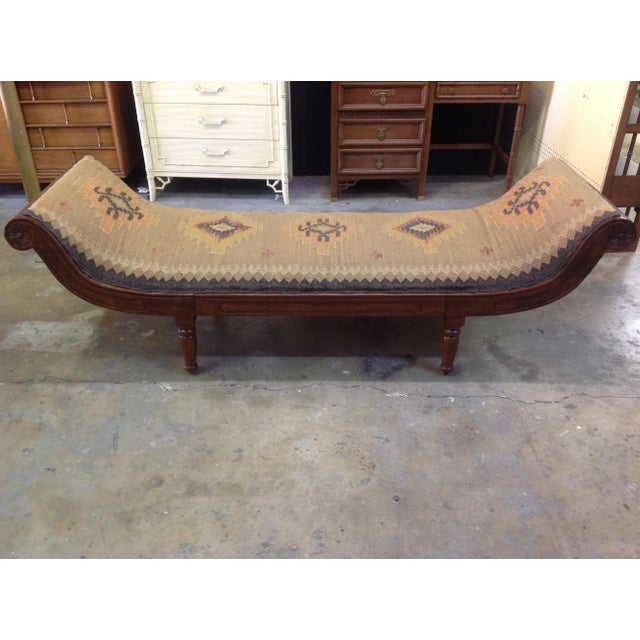 Antique Kilim Daybed - Image 2 of 6