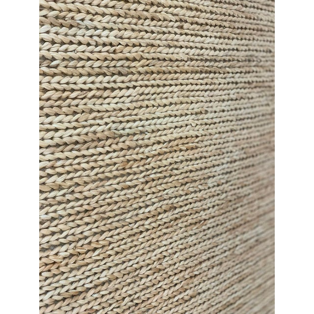 """Hand Woven Jute Rug-5'5"""" X 7'10"""" For Sale In Atlanta - Image 6 of 9"""