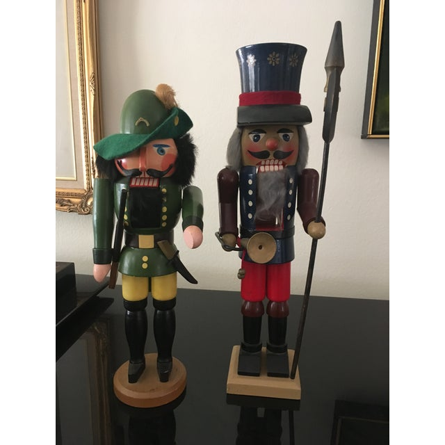1970s Vintage German Nutcrackers - A Pair For Sale - Image 5 of 7