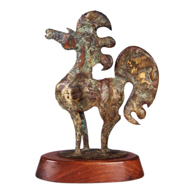 Brutalist Bronze Horse Sculpture by Bill Lett - Image 1 of 6