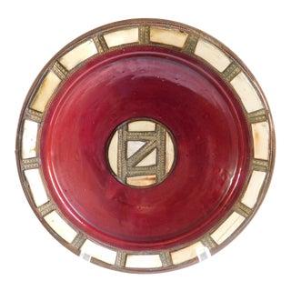 Vintage Zuni Indian Tribal Bowl For Sale