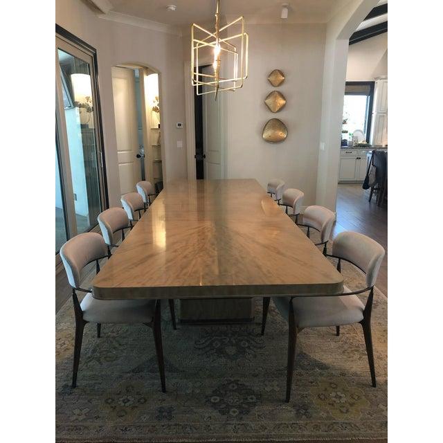 Mid-Century Modern Mid-Century Modern Henredon Belvedere Dining Set - 9 Pieces For Sale - Image 3 of 3