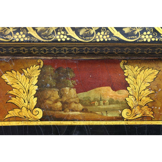Regency Papier Mâché Tray Top Coffee Table For Sale - Image 12 of 13