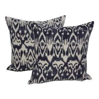 Osmosis Screen Print Pillows - a Pair