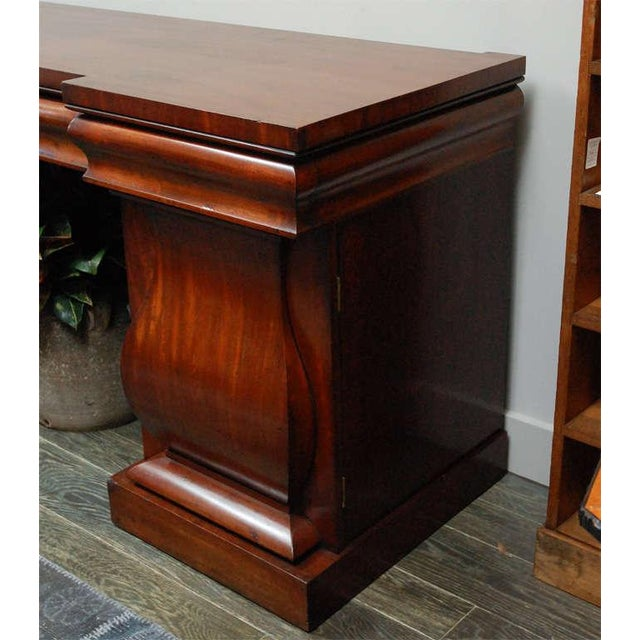Brown English Sideboard in Mahogany, Circa 1860 For Sale - Image 8 of 10