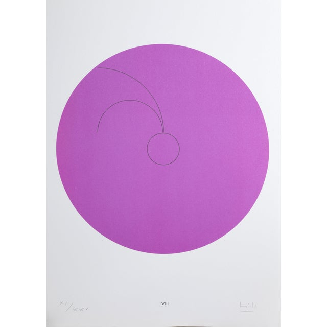 "Max Bill, ""Constellations Viii"", Geometric Lithograph For Sale"