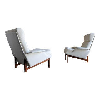 "Ib Kofod-Larsen ""Adam"" Lounge Chairs for Mogens Kold Møbelfabrik Circa 1960 - a Pair For Sale"